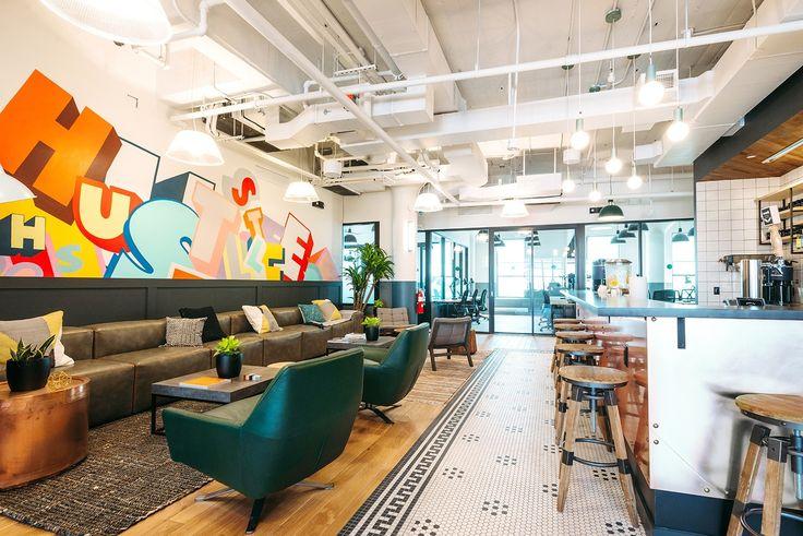 Take a Look Inside WeWork's Astoria Coworking Space - Officelovin