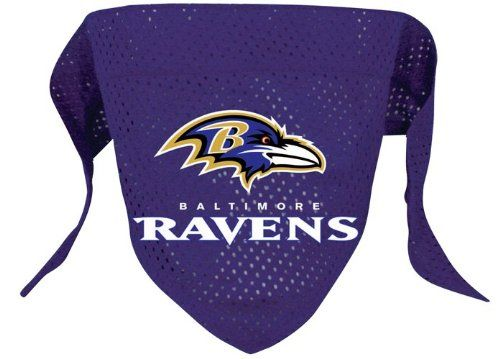Baltimore Ravens Pet Dog Football Jersey Bandana M/L - http://www.thepuppy.org/baltimore-ravens-pet-dog-football-jersey-bandana-ml/