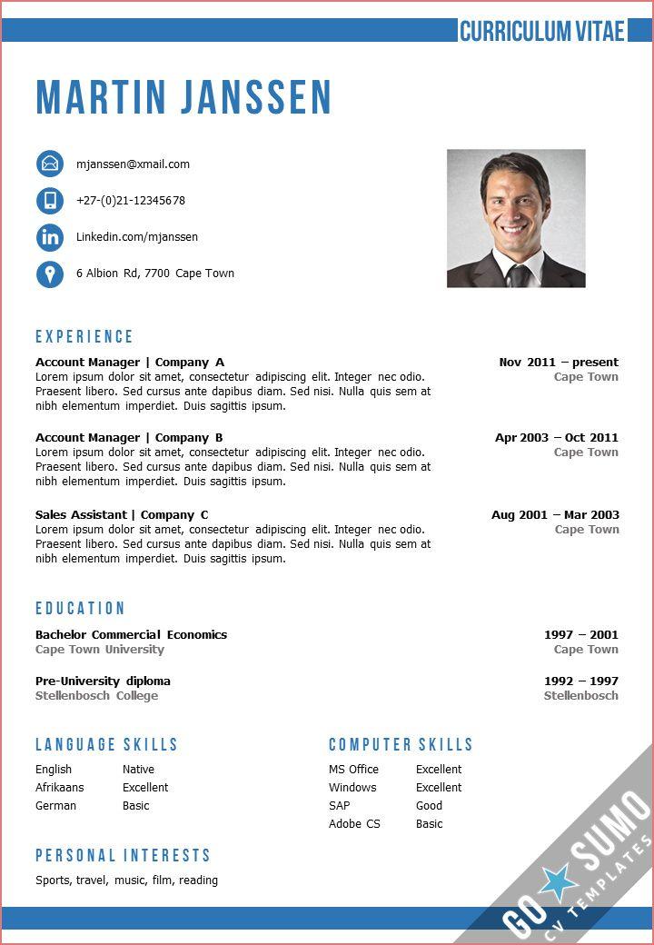 13 Anstandig Lebenslauf Vzor Fotos Microsoft Word Resume Template Cv Template Resume Template Word