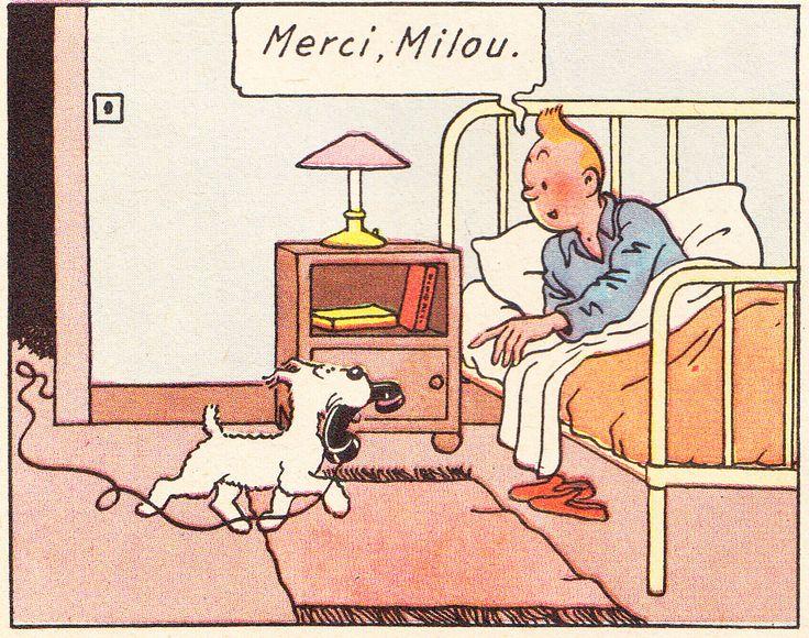 Chez Tintin - Le secret de la licorne - Hergé