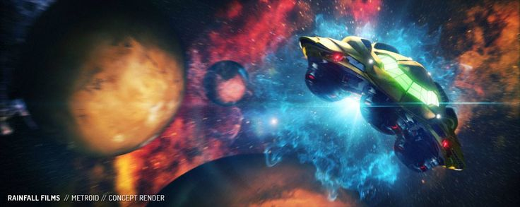 Metroid Movie Concept Art. by Rainfall Films