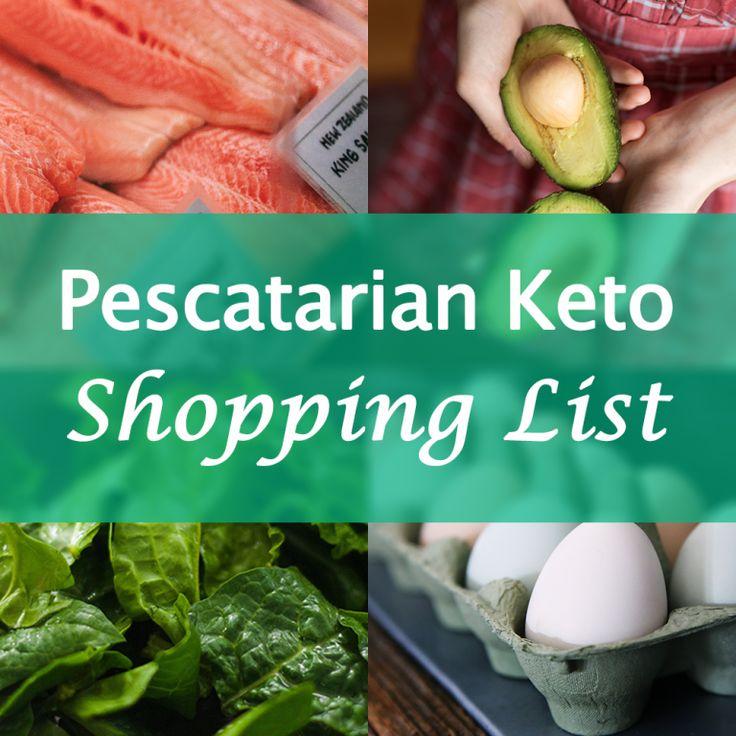 The Pescatarian Keto Food Shopping List Keto Food List Keto Meal Plan Pescatarian Meal Plan