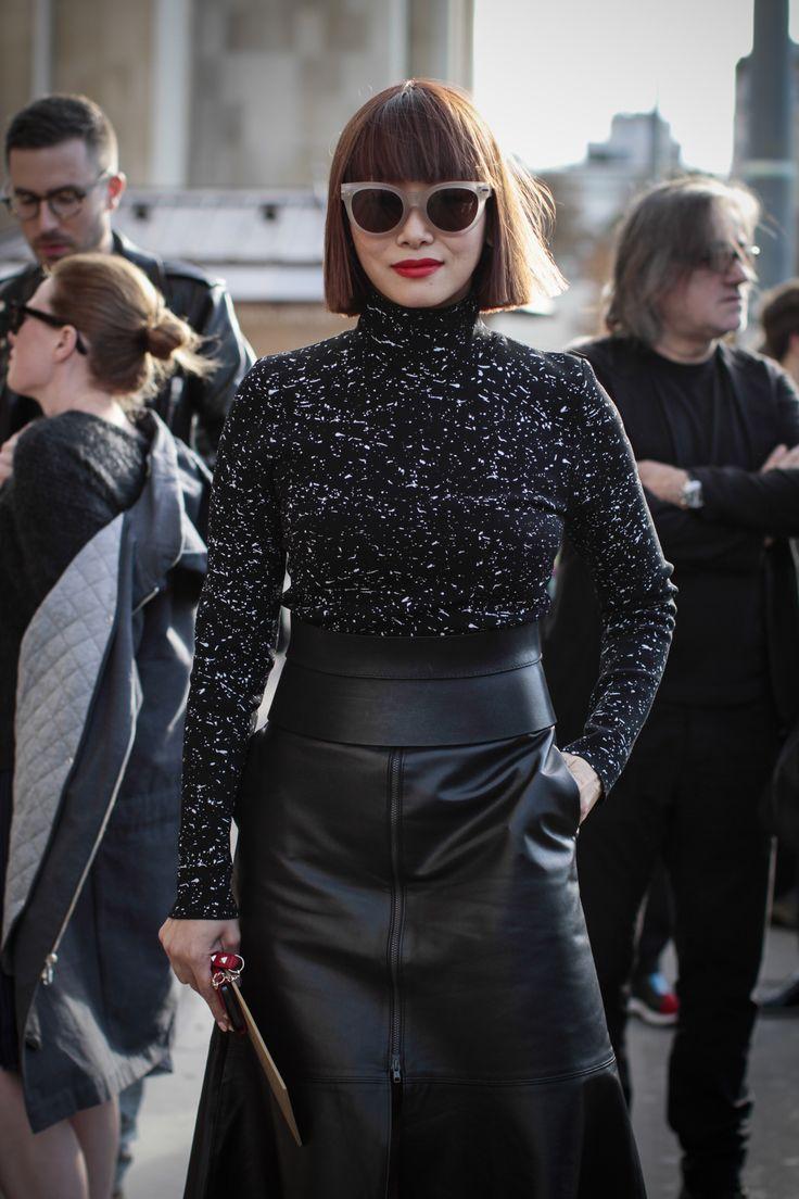 At Rick Owens - Paris Fashion Week SS15 by Amandine Dowle Photography