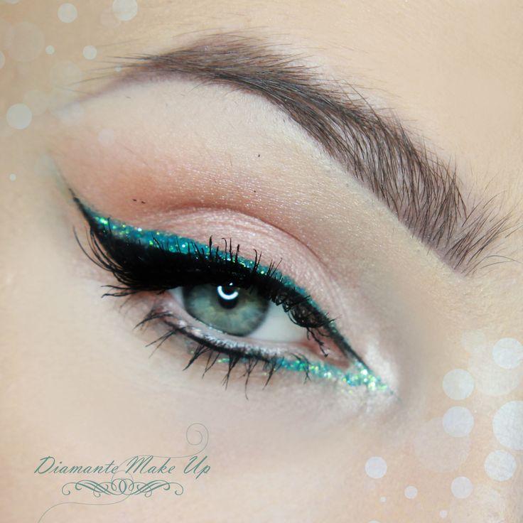 """Extreme Sparkle"" by DiamanteMakeup using the Makeup Geek Cinderella, Shimma Shimma, and Creme Brûlée eyeshadows."