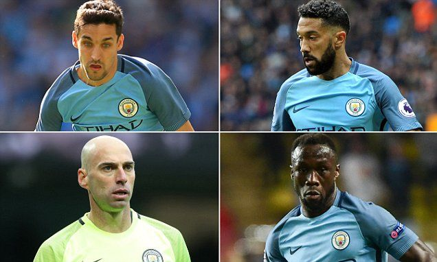 Navas, Clichy, Sagna and Caballero will leave Manchester City