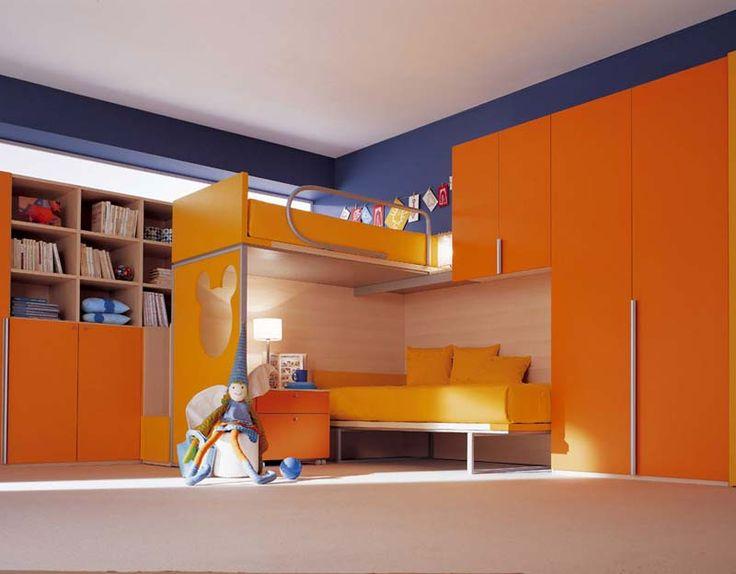 Die besten 25+ Orange jungenzimmer Ideen auf Pinterest Orange - schlafzimmer orange
