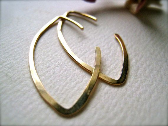 Hey, I found this really awesome Etsy listing at https://www.etsy.com/listing/55187833/buffy-earrings-hammered-gold-hoop