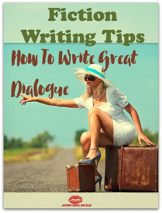 4 Fiction Writing Tips: Write Great Dialogue http://www.justwriteabook.com/blog/writing-techniques/4-fiction-writing-tips-write-great-dialogue/