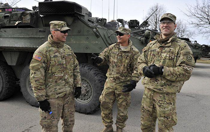 Des unités de la protection civile de différentes villes lettonnes participent à des exercices militaires dirigés par l'armée américaine.  IL POULUE LA PLANETE PAR LEUR PRESENCE PARTOUT DANS LE MONDE