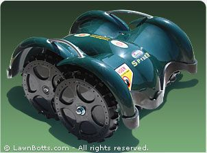 Give me a few more 90+ degree days to mow my lawn and I just may... - LawnBott Spyder / LB1200 Robotic Lawn Mower