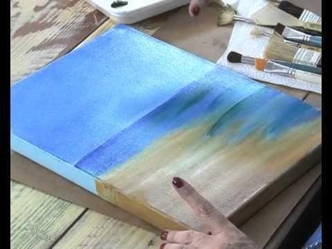 Patinas, Decoupage y Pintar un paisaje - Claudia Kunze y Silvia Mongelos...