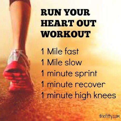 Run workout