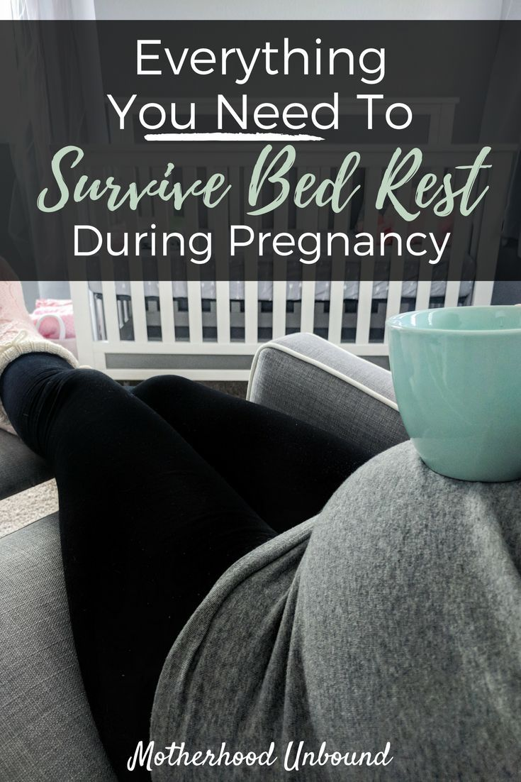 Bed Rest during pregnancy can be overwhelming. You're probably already worried about the baby, you don't need to be worried about how you'll manage bed rest too. This post walks you through everything you need for bed rest survival to keep comfortable, entertained, and sane!