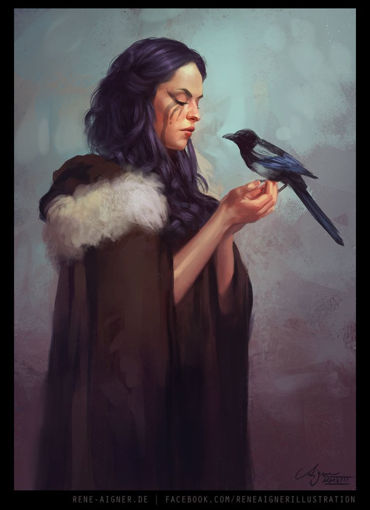 One for Sorrow by ReneAigner on DeviantArt