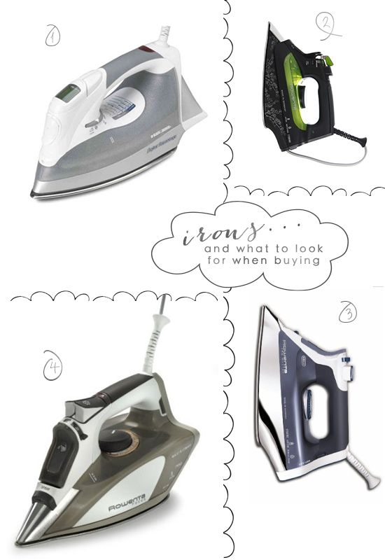 What i Heart Now: Irons (the best irons for sewing) by Madalynne