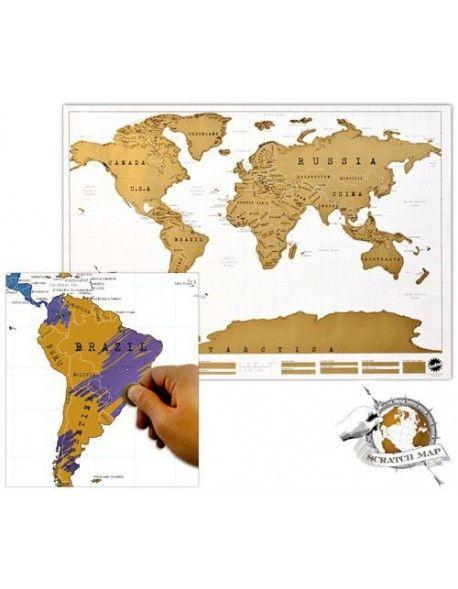 Mapa Mundo Raspadinha