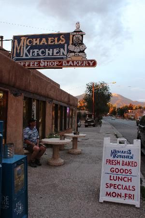 Michael's Kitchen, Taos, NM. Get the quesadillas and an eclair.