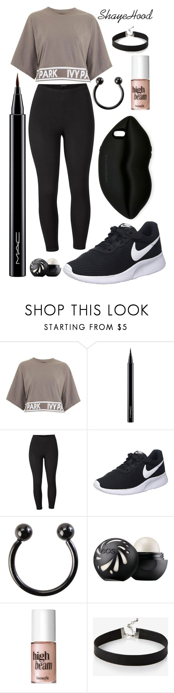 """""""17/O5/2O17"""" by shayehood on Polyvore featuring mode, Topshop, MAC Cosmetics, Venus, NIKE, Hot Topic, Benefit, Express, STELLA McCARTNEY et plus size clothing"""
