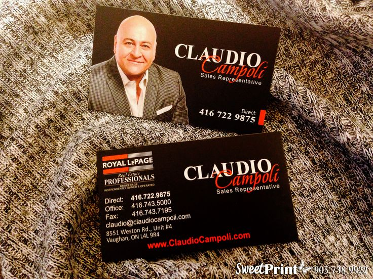86 best business cards images on pinterest business cards carte matching designed business cards for claudio campoli sweetprint reheart Images