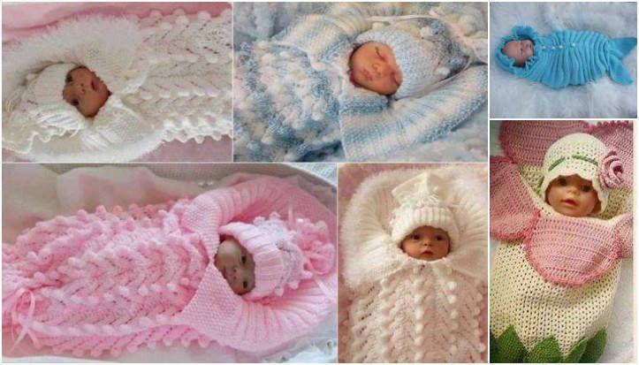 örgü bebek tulumları