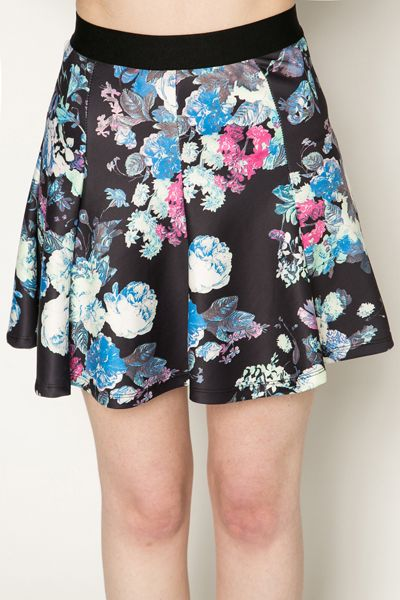 Floral Skater Skirt @ Everything5pounds.com