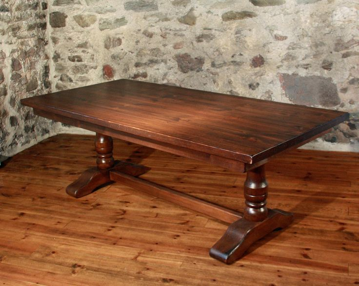 45 Best Images About Trestle Tables On Pinterest