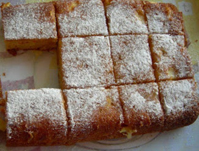 kolay elmalı kek tarifi