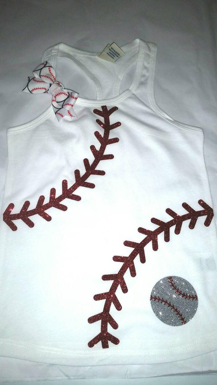 Baseball laces racerback bling tsnk. Baseball bling shirt. Baseball bling. Lil sister baseball bling. Baseball. Baseball Sister. Bling Tank by SpunkySparkles on Etsy https://www.etsy.com/listing/286967269/baseball-laces-racerback-bling-tsnk