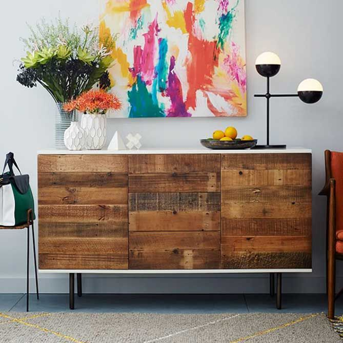 Aus modern wird rustikal – IKEA Wandschrank pimpen   Ikea Hacks & Pimps…