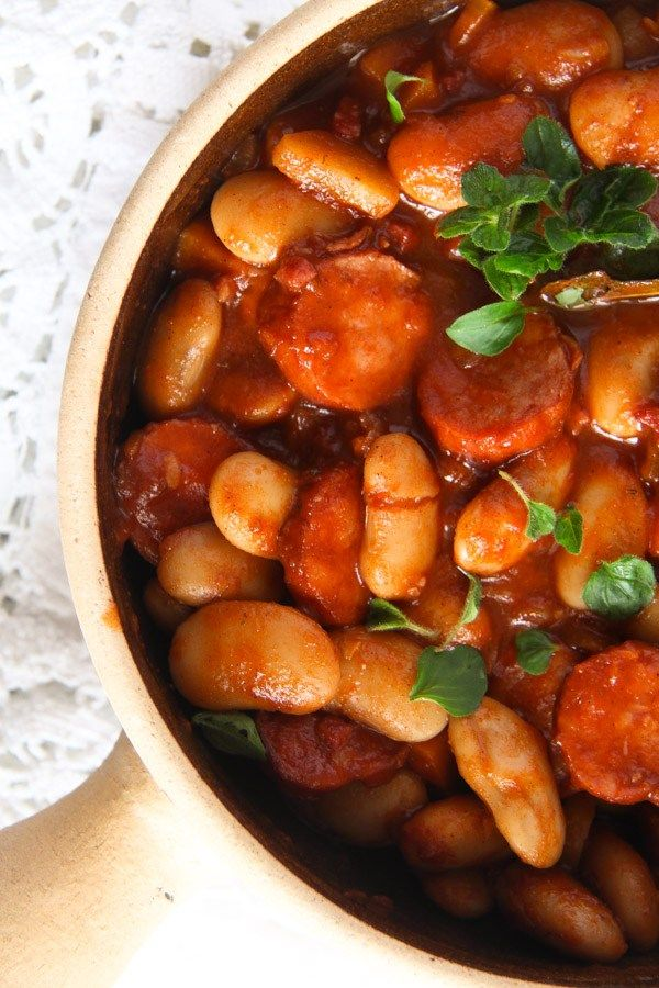 polish beans 3 Easy White Bean and Cabanossi Sausage Stew – Polish Recipe