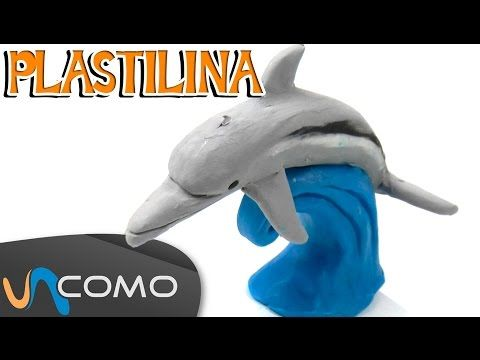 Cómo hacer animales de plastilina / Caballito de mar - YouTube