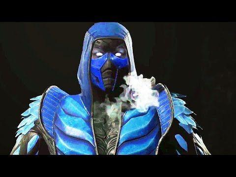 INJUSTICE 2 Sub-Zero Trailer DLC (PS4 / Xbox One) - YouTube