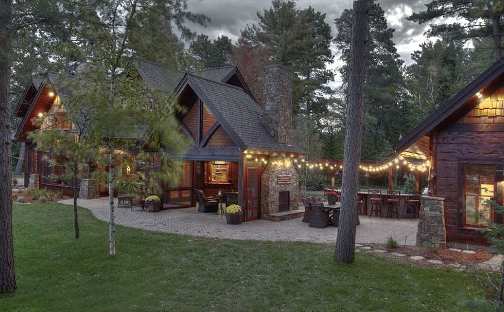 Brand New Luxury Cabin On The Whitefish Chain - VRBO