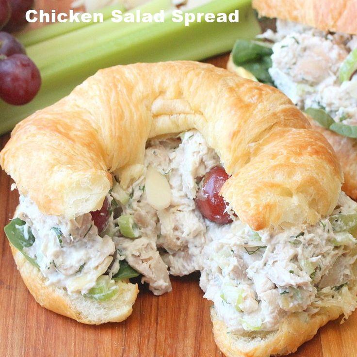 Recipe for chicken salad spread