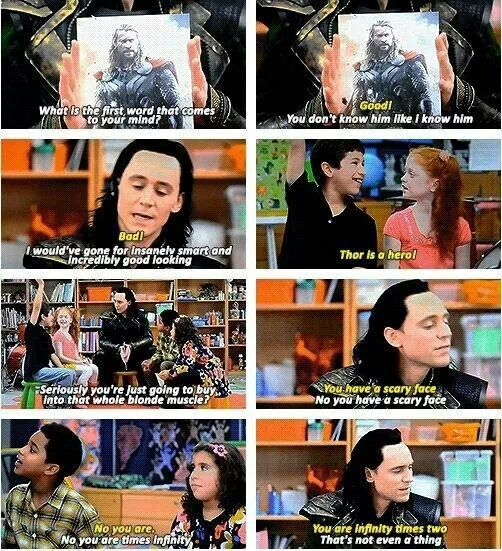 Loki on Comedy Central. Incredibly good looking indeed! ^u^