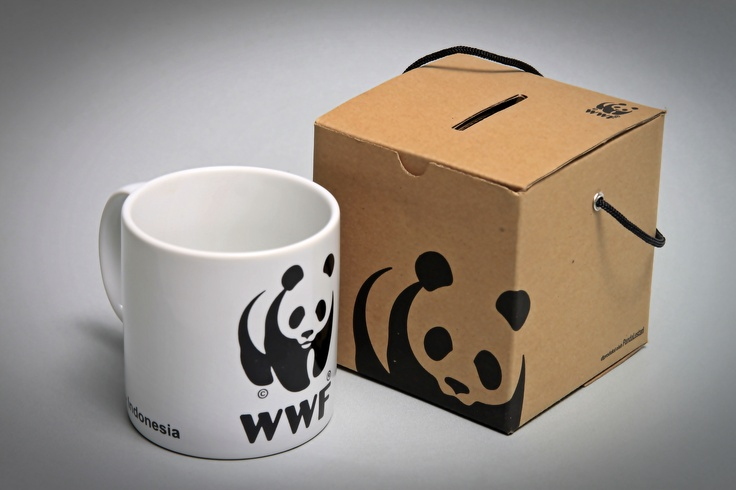 Get this WWF  Mug for only IDR 55.000. Grab it fast @WWF_Pandashop