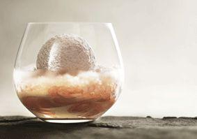 Snow Egg dessert by Peter Gilmore.