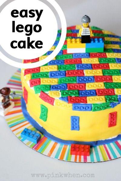 1000 Ideas About Lego Cake Tutorial On Pinterest Lego