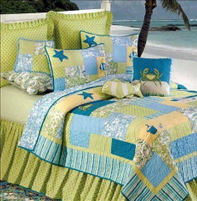 Beach Themed Quilts Beach Bum Quilt Discount Home