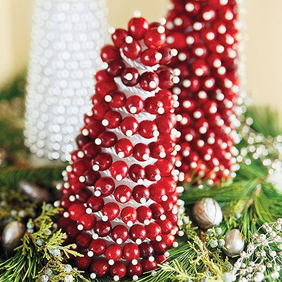 72 best images about holidays christmas on pinterest for Artificial cranberries decoration