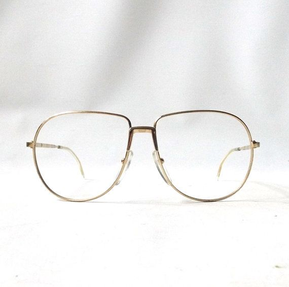 vintage 1980's NOS eyeglasses aviators round by RecycleBuyVintage