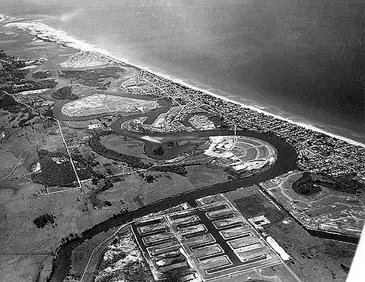 Gold Coast Canal developments, 1960