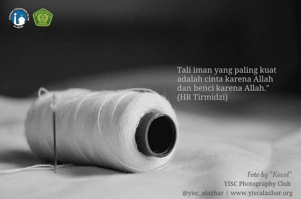 #tali #iman #cinta #benci #Allah #yisc #qoute