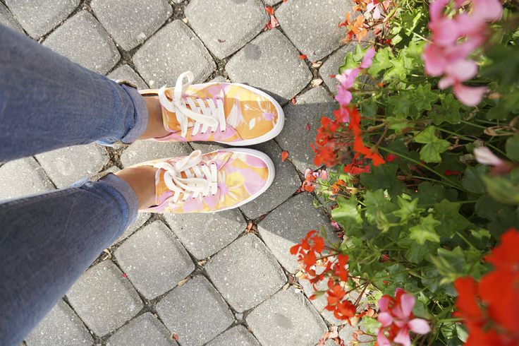 Passion Shoes made to walk and stop to smell whatever smells good, you get the concept #shoesoftheday