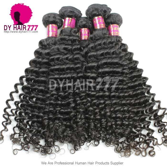 3 or 4 pcs/lot Royal Brazilian Virgin Deep Curly Hair Extensions Natural Color|Virgin Remy Hair Extensions , Virgin Hair Fantasy – DYHair777