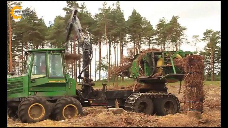 Modern Heavy Equipment 2016, John Deere Forestry Equipment