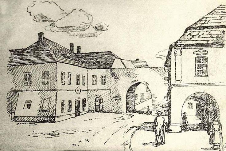 Čáslavská brána - také jako Kutnohorská