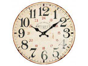 Nástěnné hodiny kulaté Antiquité - 58 cm