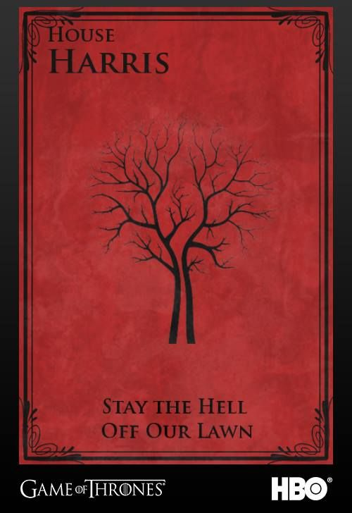 Game of Thrones - Our Family Crest | Game of Thrones | Pinterest