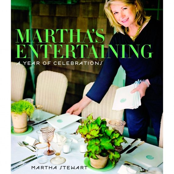 "Martha shares the details of a special Thanksgiving dinner showcased in ""Martha's Entertaining: A Year of Celebrations."" The brown dining room at her home in Bedford, New York, was chock-full of turkeys: versions in gold, cranberry, and cornbread, plus the real thing -- a roasted heritage breed, Bourbon Red."